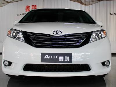 2017年10月 丰田 塞纳(进口) 3.5L 四驱 Limited限量 汽油 美规版图片