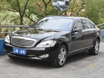 2008年7月 奔驰 奔驰S级(进口) S 600