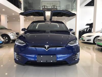 2018年10月 特斯拉 Model X Model X 75D