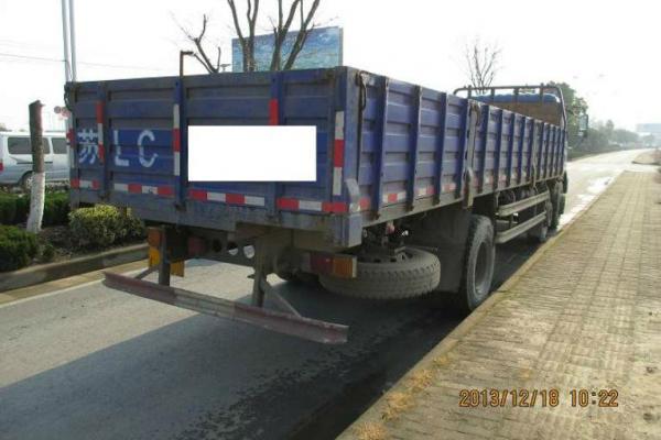 1年3月 二手北汽福田瑞沃重型平板货车 价格14.8万元高清图片