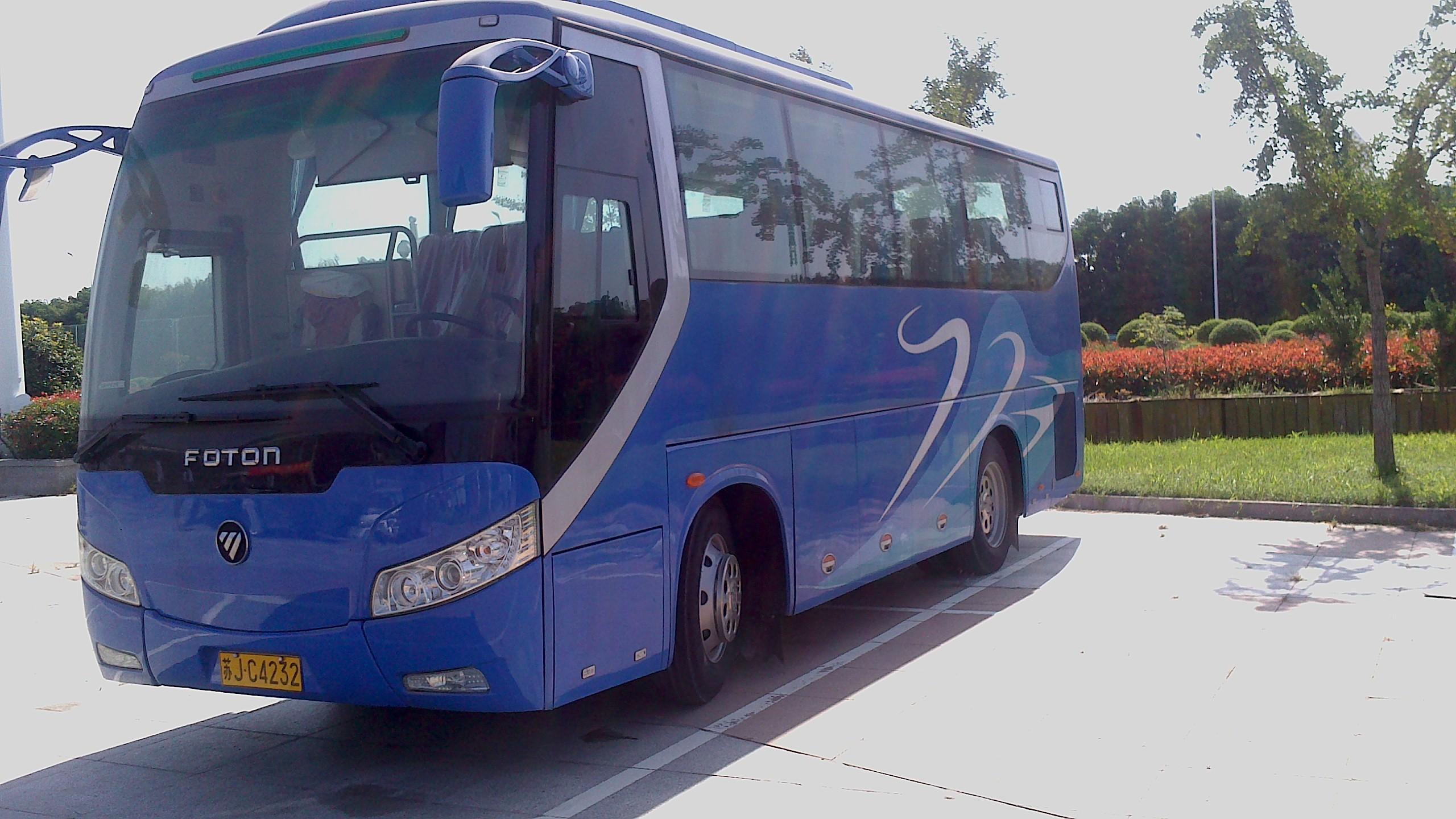 2013年7月福田大客车
