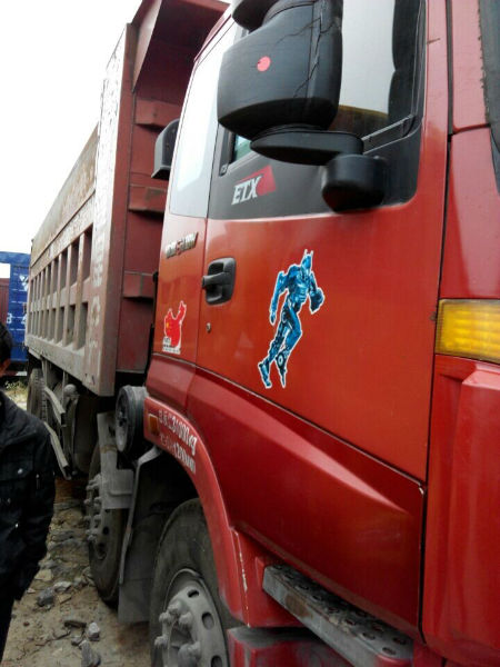 年12月 二手欧曼前四后八自卸车 价格17.2万元