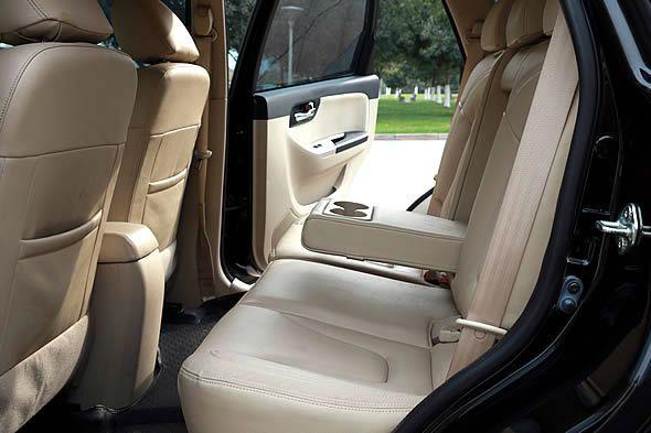 013年9月 二手海马S7 自动 高配 黑色 价格11.38万元高清图片