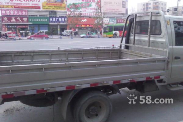 011年8月 二手黑豹旗胜双排小货车 价格2.38万元