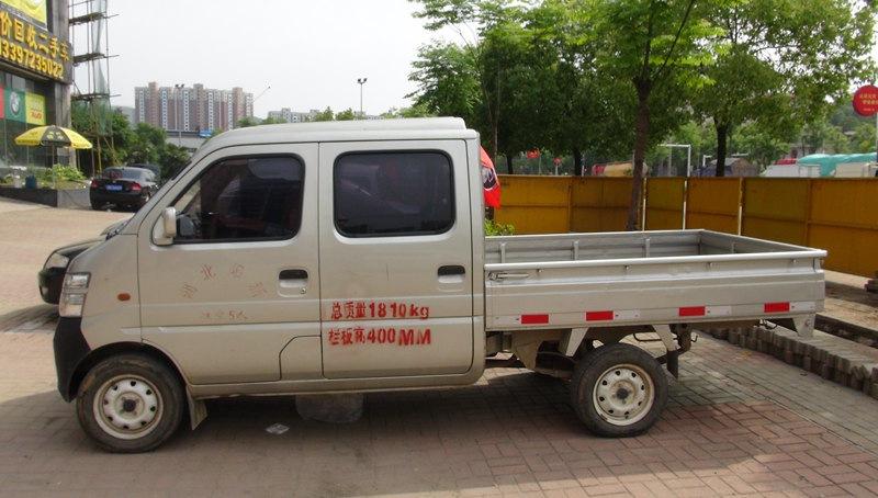 【黄石】2011年3月长安汽油长安星卡1.0l基本型s201涡轮灰色挡哈弗h5商用手动改装图片