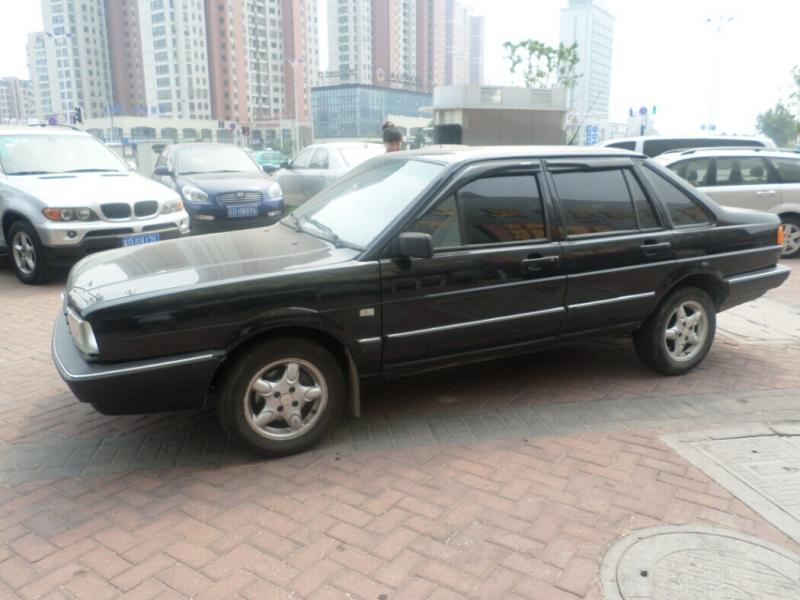 【常州】2004年6月 大众 桑塔纳 gli 手动旅行车 黑色 手动挡