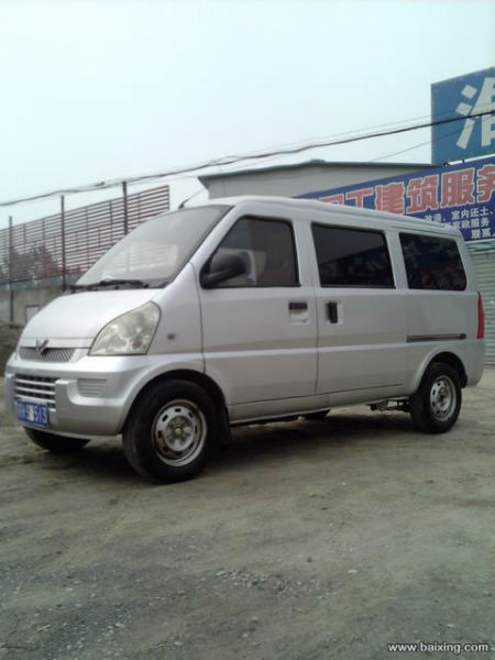 2009年2月 二手单位五菱荣光商务面包车 价格3万元