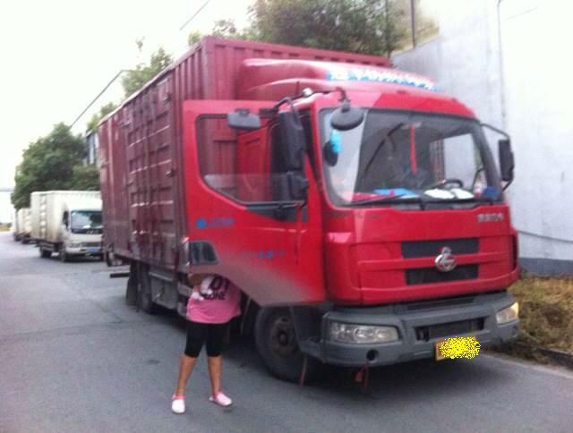东风乘龙厢式货车_东风乘龙厢式货车,13年5月份图片