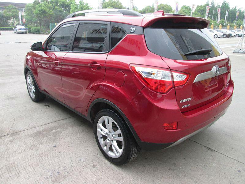 2013年5月 长安CX35 1.6 红色 红色 手动挡高清图片