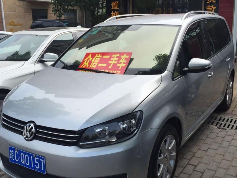 【蚌埠二手车】2011年7月_二手大众 途安 1.4tsi 5座