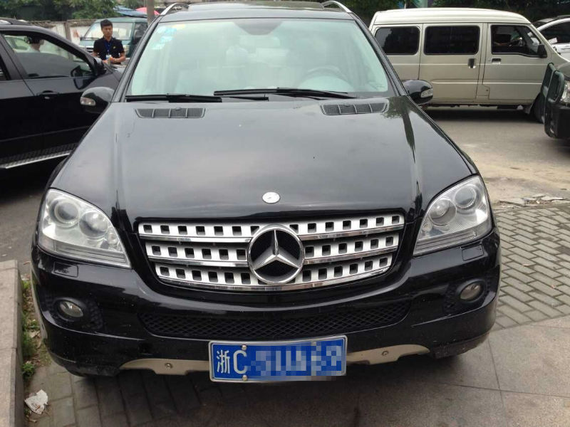 【温州二手车】2009年8月_二手奔驰 ml350_价格28.8