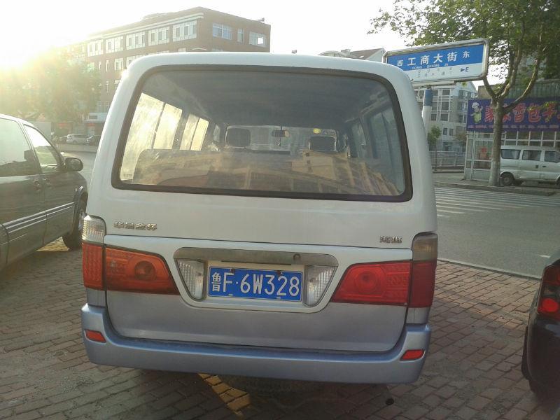 【烟台】2007年6月 金杯海狮面包车 白色 手动挡