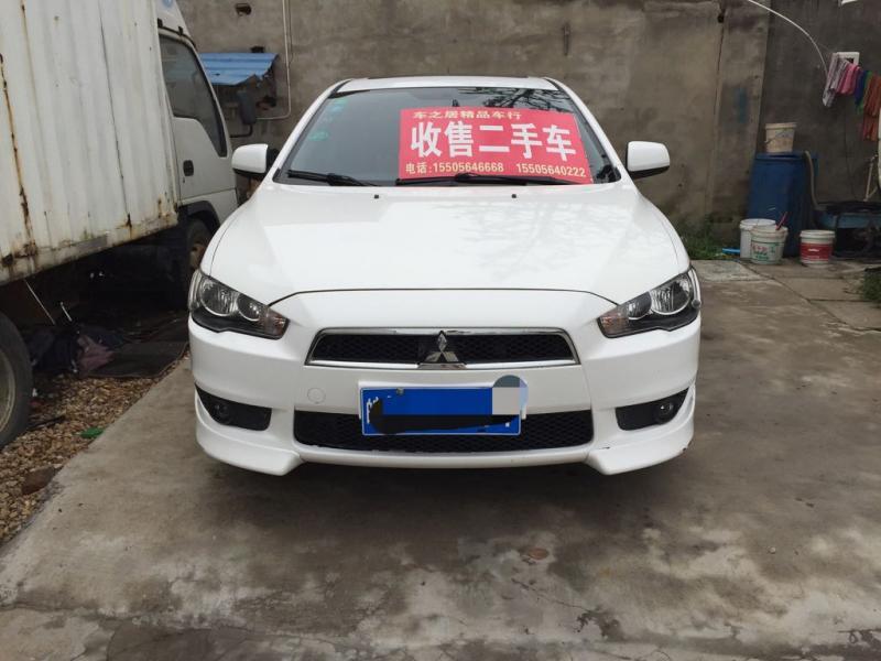 【安徽】2011年9月 三菱 翼神 1.8 致尚版豪华型 白色 手动挡