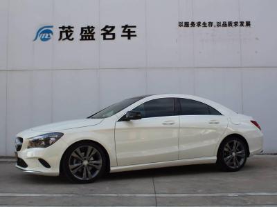 奔驰 奔驰CLA级  2017款 改款 CLA 200 动感型