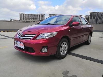 丰田 卡罗拉  2011款 纪念版 1.6L 自动GL