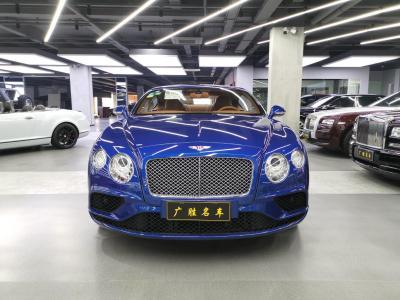 2017年1月 宾利 欧陆 宾利GT-V8欧规顶配图片