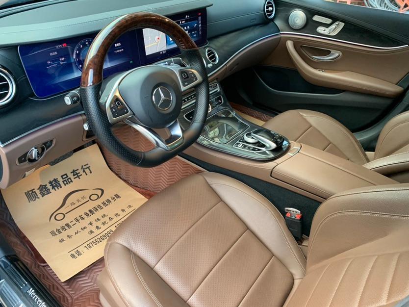奔馳 奔馳E級  2019款 E 300 L 豪華型圖片