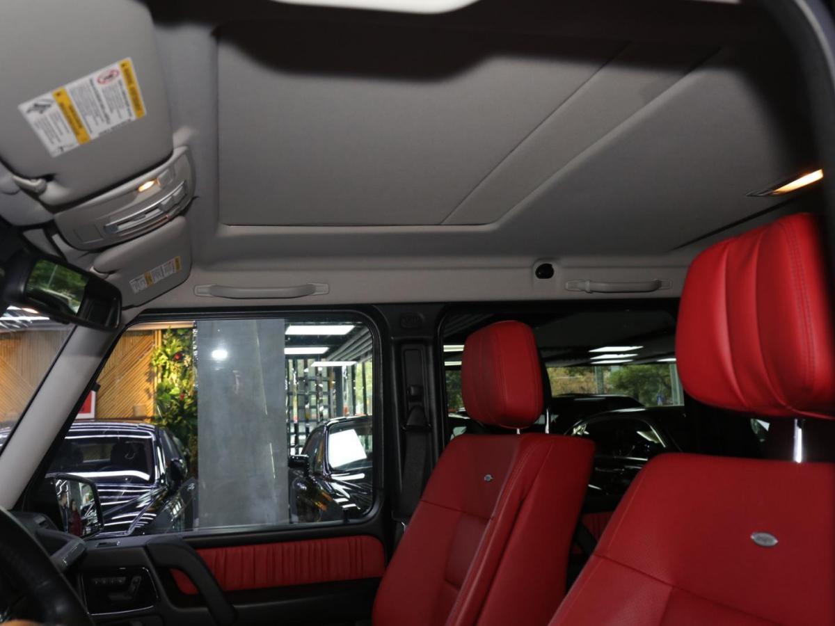 奔驰 奔驰G级 G 550 图片