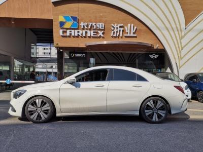 奔驰 奔驰CLA级  2017款 CLA 200 时尚型图片