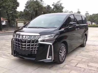 2018年1月 丰田 埃尔法(进口) 改款 3.5L 豪华版图片