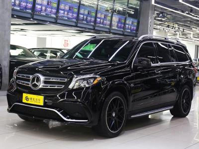 奔馳 奔馳GLS  2018款 GLS450 4MATIC 3.0T 美規版