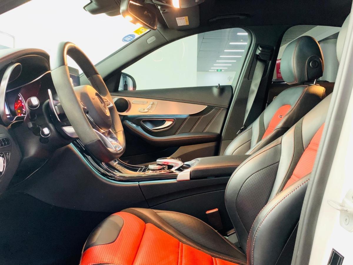 奔驰 奔驰C级AMG  2015款 AMG C 63图片
