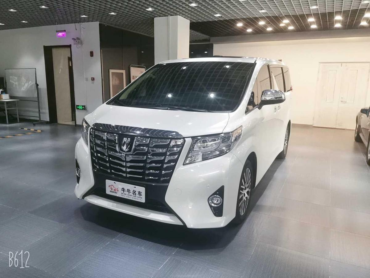 2018年1月 丰田 埃尔法(进口) 3.5L 尊贵版图片