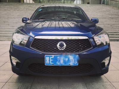 雙龍 愛騰  2014款 2.3L 四驅自動豪華汽油版圖片