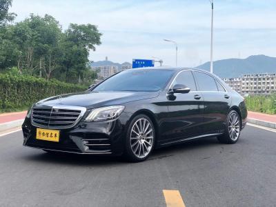 2019年7月 奔驰 奔驰S级(进口) S 450 L 4MATIC 卓越特别版图片