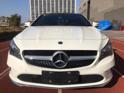 2018年4月 奔驰 奔驰CLA级(进口) CLA 200 动感型图片