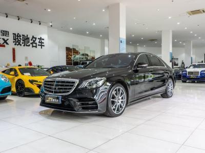 奔驰 奔驰S级  2019款 S 450 L 4MATIC 臻藏版