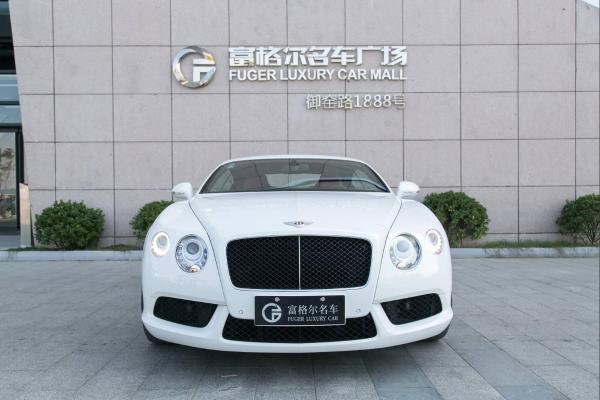 宾利 欧陆  2014款 GT 4.0T 标准版
