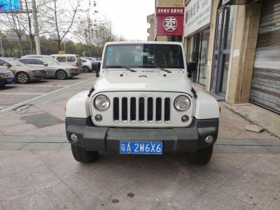 Jeep 牧馬人  2017款 3.0L Sahara 四門舒享版