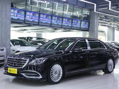 奔馳 邁巴赫S級  2018款 S 450 4MATIC