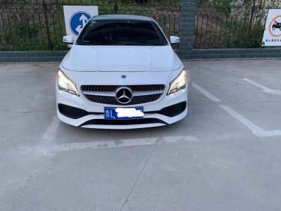 奔驰 奔驰CLA级  2018款 CLA 200 时尚型