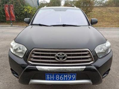 2010年11月 丰田 汉兰达 2.7L 精英版七座图片