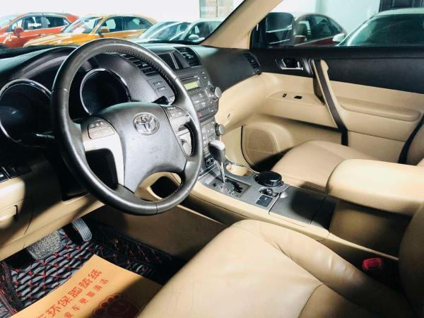 丰田 汉兰达  2009款 2.7L 豪华版七座图片