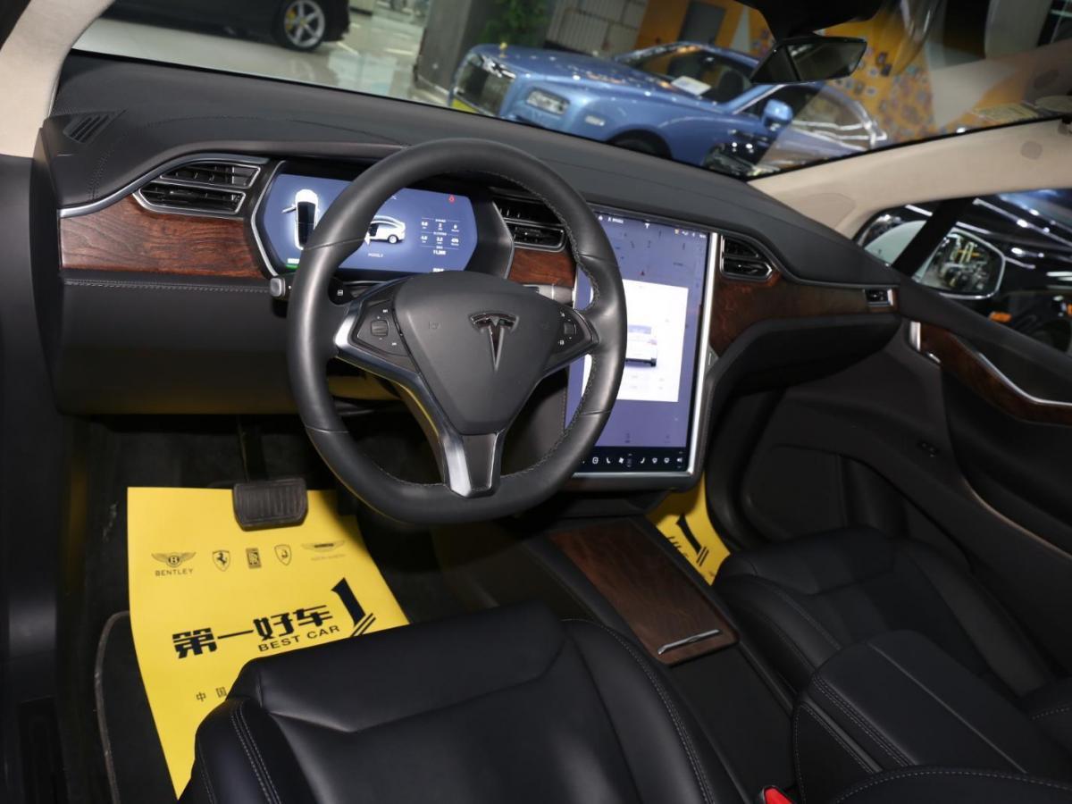 特斯拉 Model X  100D图片