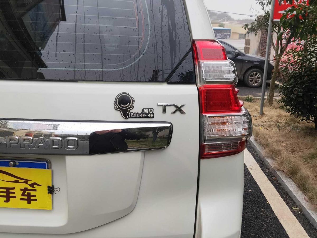 丰田 普拉多  2016款 2.7L图片