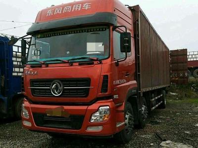 2017年9月 东风天龙前四后四厢式货车,图片