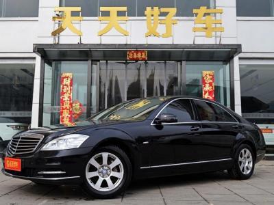 奔驰 奔驰S级  2012款 S300L 3.0L 商务型