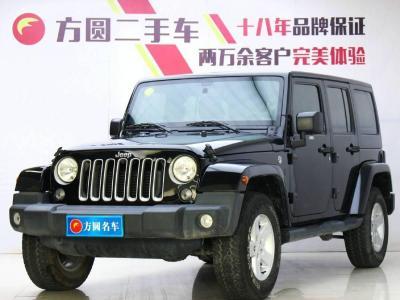 2017年9月 Jeep 牧马人(进口) 2.8TD Sahara 四门舒享版图片