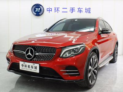 奔馳 奔馳GLC  2017款 GLC 260 4MATIC 轎跑SUV