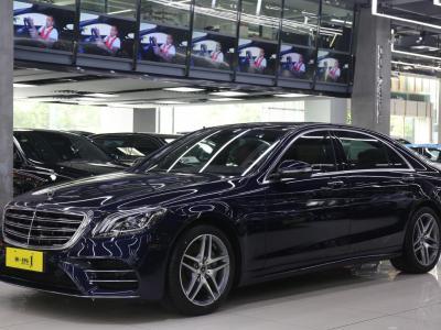 奔驰 奔驰S级  2018款 S 450 L 4MATIC