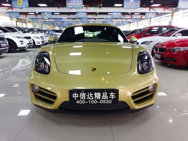 【青岛】2014年5月 保时捷 卡曼 2.7 黄色 自动档