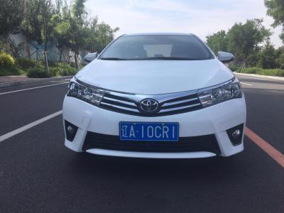 丰田 卡罗拉  2016款 1.6L CVT GL-i炫酷版