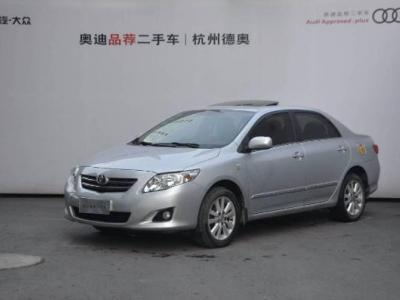 丰田 卡罗拉 2011款  1.8L CVT GL-i图片