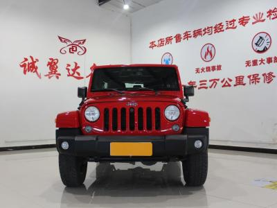 Jeep 牧马人  2014款 3.0L Sahara 四门版图片