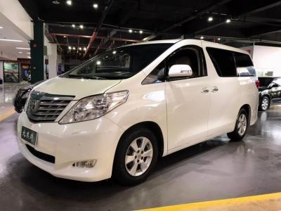 丰田 埃尔法  2012款 2.4L 豪华版图片