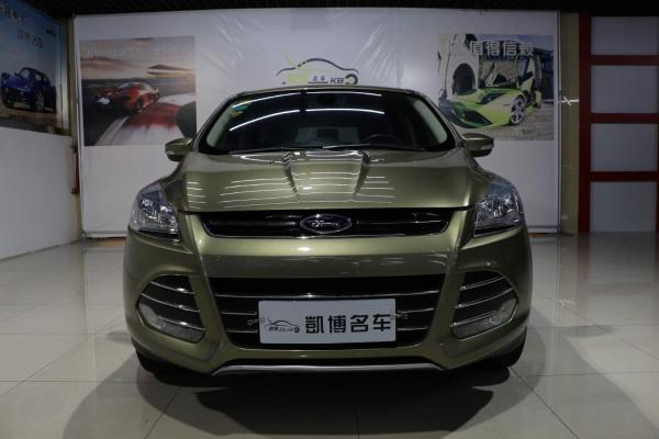 【苏州】2014年8月 福特 翼虎 1.6gtdi 两驱风尚型 绿色 自动档